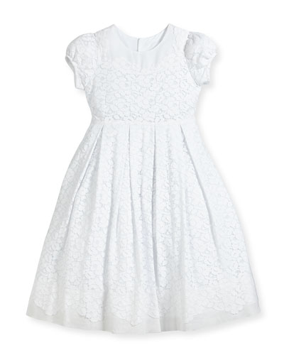 Gala Organdy Lace Dress, Size 2-3