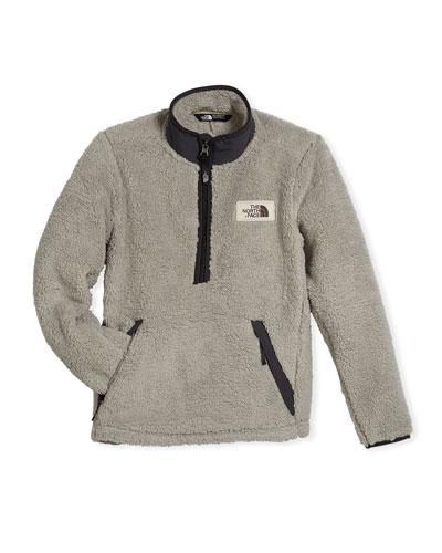 Boys' Khampfire Half-Zip Fleece Pullover, Size XXS-XL