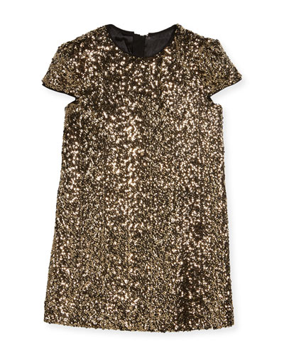 Chloe Sequin Dress, Size 8-16