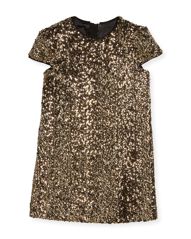 Chloe Sequin Dress, Size 8-16