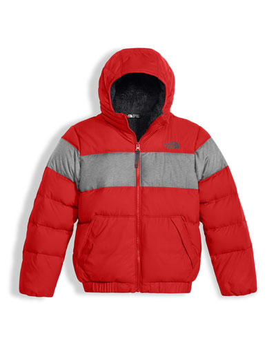 Boys' Moondoggy 2.0 Down Quilted Jacket, Red, Size XXS-XL