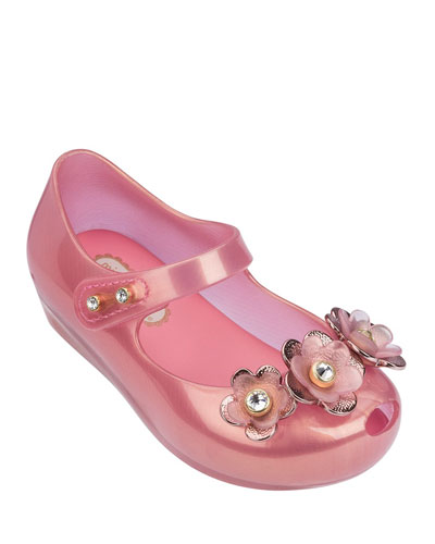 Ultragirl Flower Mary Jane Flat, Toddler