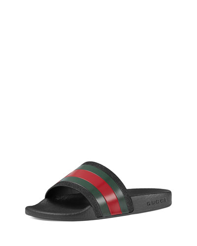 Pursuit Web Rubber Slide Sandal, Kids' Sizes 10T-2Y