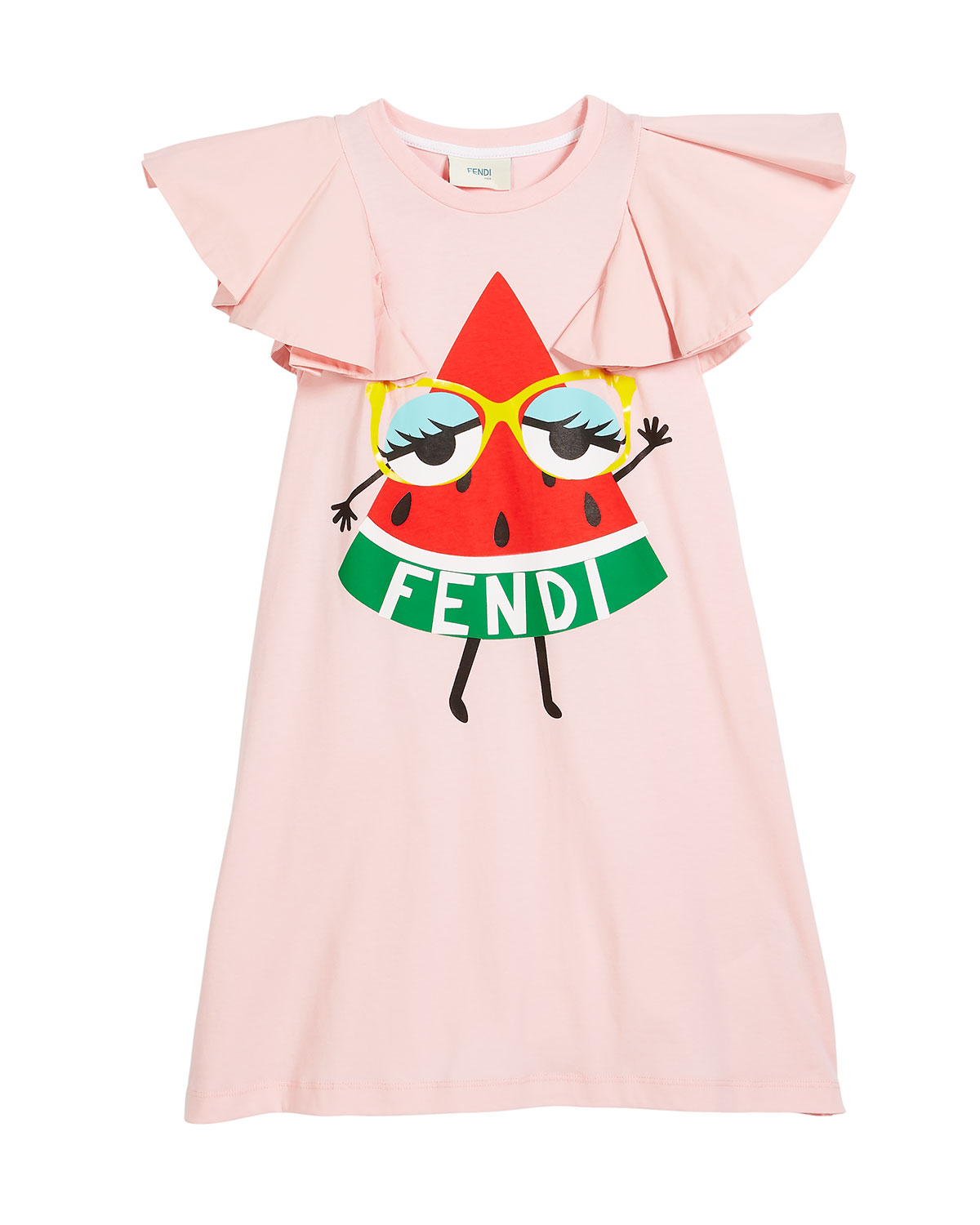Watermelon Logo Dress, Size 10-12