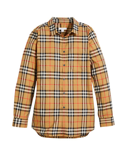 248a890bdcc Fred Long-Sleeve Check Shirt
