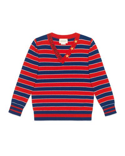 df314010752f Gucci Sweater | bergdorfgoodman.com