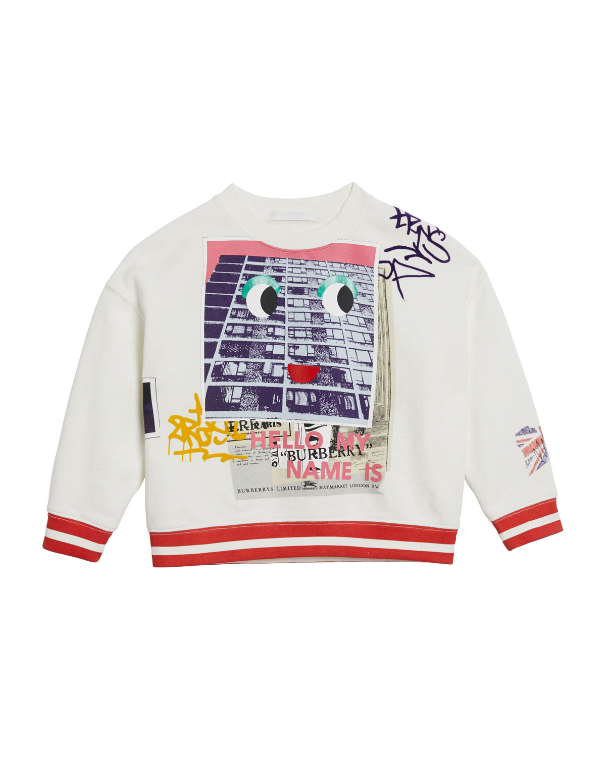 My Name graphic Sweatshirt, Size 4-14