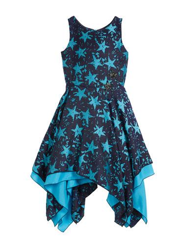 cc5c0a9118 All Star Jacquard Sleeveless Dress, Size 4-6X