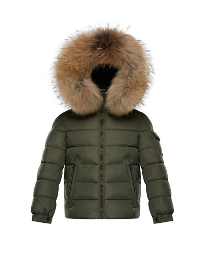 Boys' Byron Hooded Puffer Jacket, Size 8-14 Quick Look. Moncler