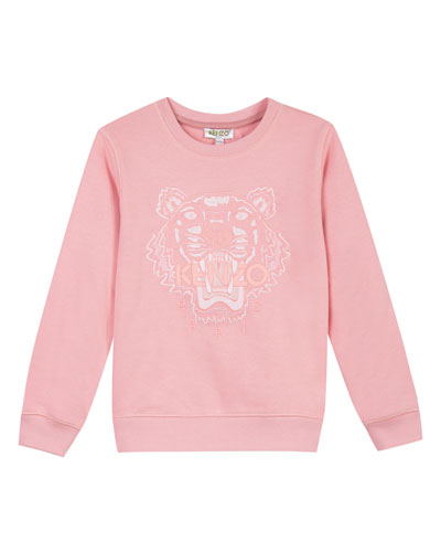 Tiger Face Icon Sweatshirt, Sizes 8-12