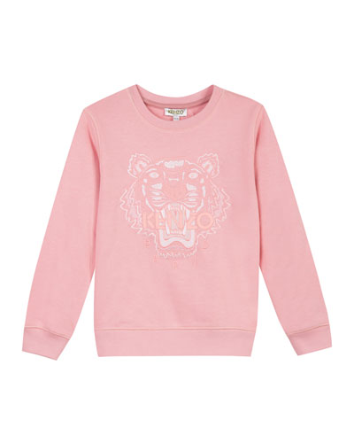 Tiger Face Icon Sweatshirt, Sizes 2-6