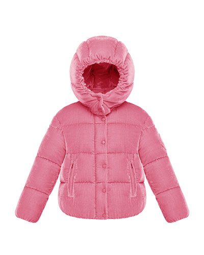 Caille Hooded Jacket, Size 4-6