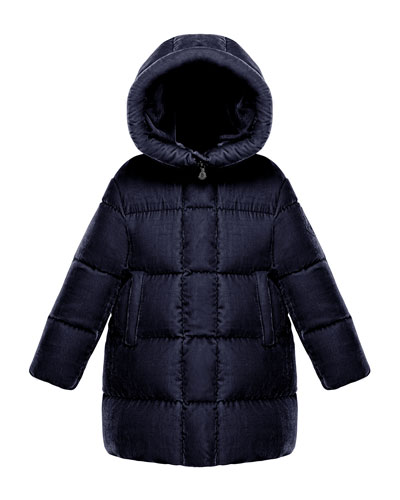 Butor Quilted Velour Jacket, Size 8-14