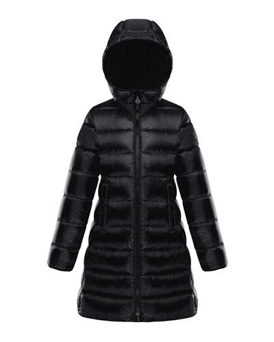 Suyen Hooded Long Puffer Coat, Sizes 8-14