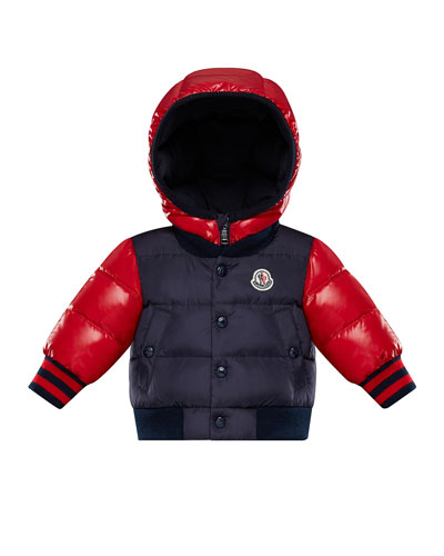 1a0cbac1877 Monieux Two-Tone Puffer Coat