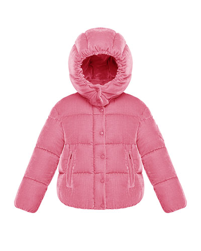 Caille Hooded Jacket, Size 8-14