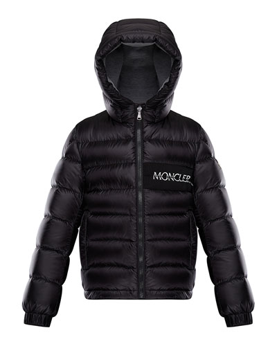 Aiton Hooded Quilted Jacket, Size 8-14
