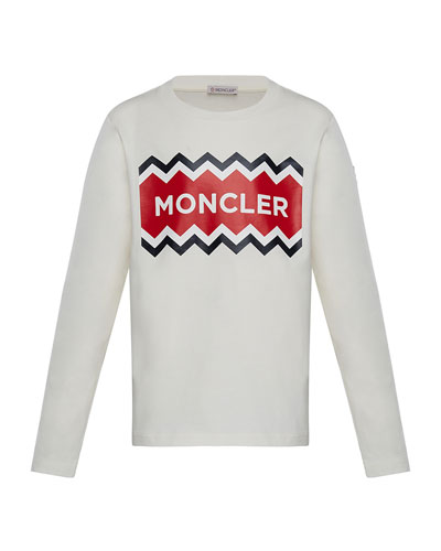 Long-Sleeve Logo Graphic T-Shirt, Size 8-14 Quick Look. Moncler ece944a7a5e