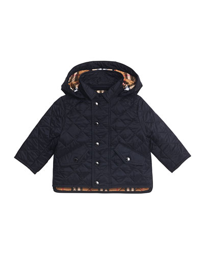 Ilana Quilted Hooded Jacket, Size 12M-3
