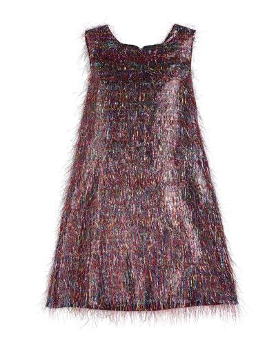 Roxy Rainbow Sparkle Dress, Size 2-6X