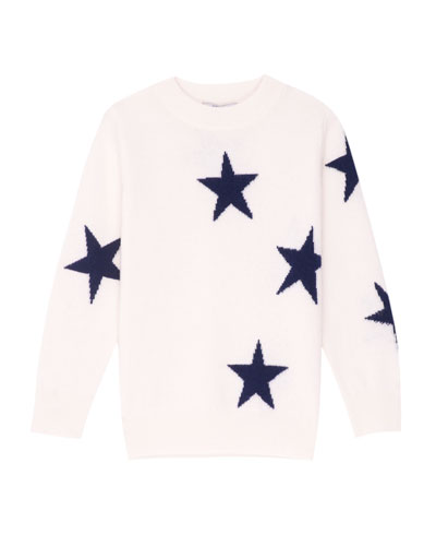 Gemma Star Intarsia Sweater, Size 6-14