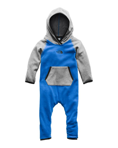 The North Face Glacier Two-Tone Hooded Coverall Jacket,