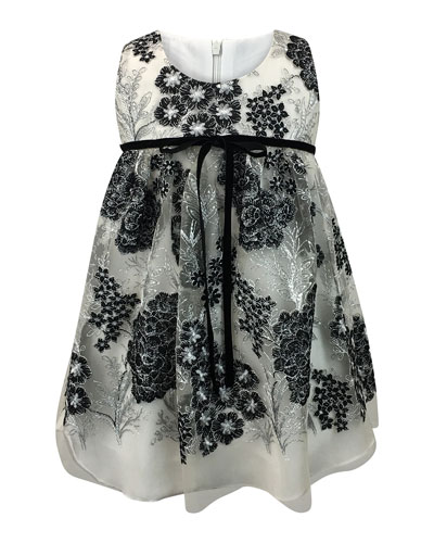 Sleeveless Lace Dress, Size 2-6