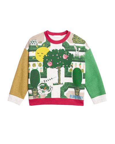 ab888476e67a Garden Maze Colorblock Long-Sleeve Shirt