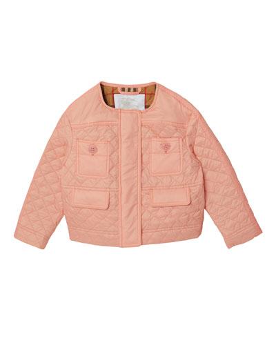 Tollamo Quilted Nylon Jacket, Size 3-14