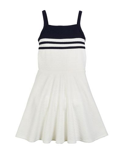 The Blaire Jacquard Flare Dress, Size S-XL