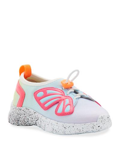 Fly-Bi Gradient Scuba Mesh Butterfly-Wing Sneakers, Toddler/Kids