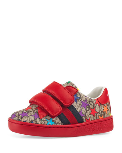 80588040843 New Ace GG Supreme Rainbow Star-Print Sneakers
