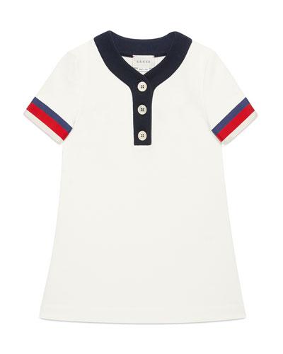 Monsters Baseball Jersey Dress, Size 4-12