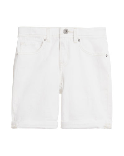 Relaxed Straight-Leg Shorts, Size 3-14
