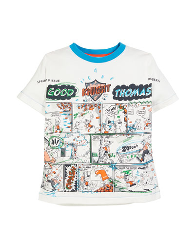 Comic Book Graphic Tee, Size 3-14