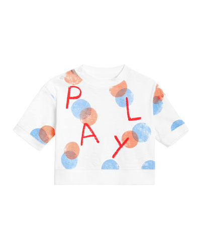 4f5bd001e889 Play Long-Sleeve Spotted Top