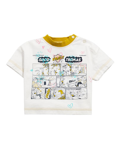 Comic Doodle Graphic Tee, Size 6M-2
