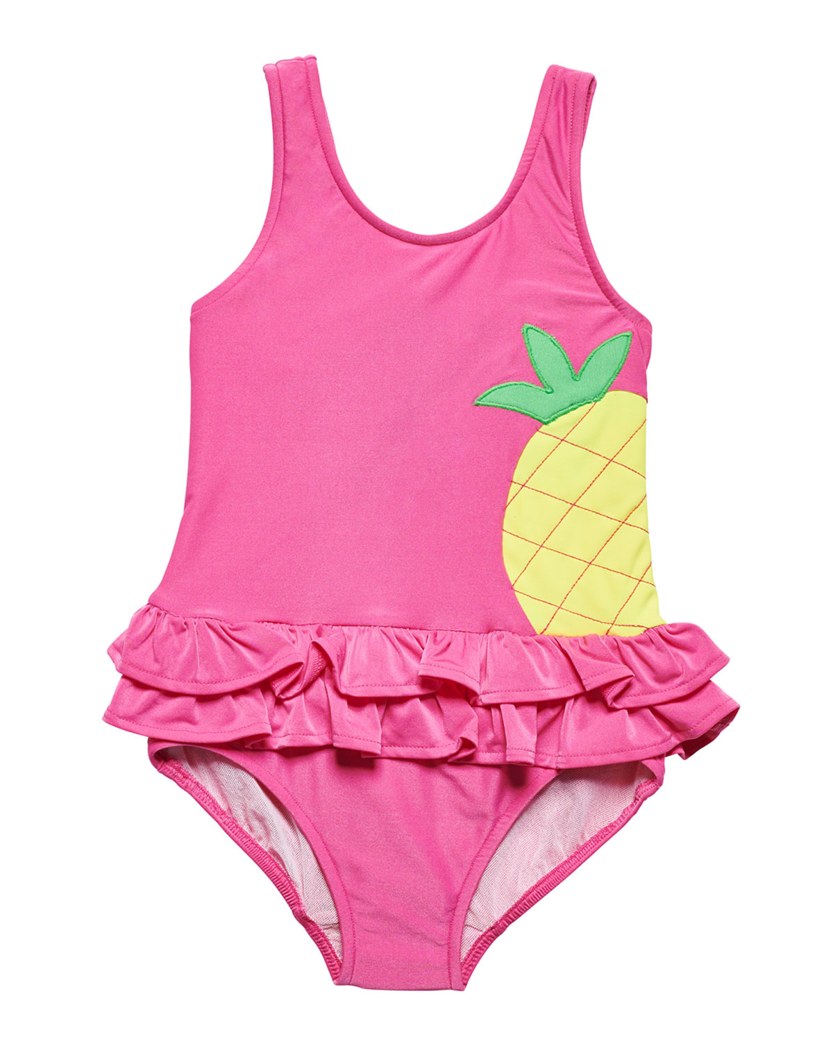 FLORENCE EISEMAN One-Piece Pineapple Swimsuit, Size 2-6X in Pink