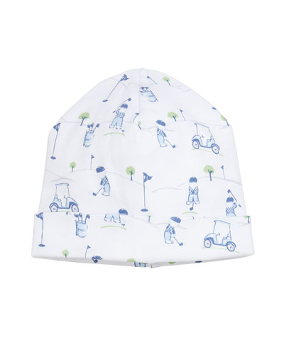 Kissy Kissy First Tee Printed Pima Baby Hat