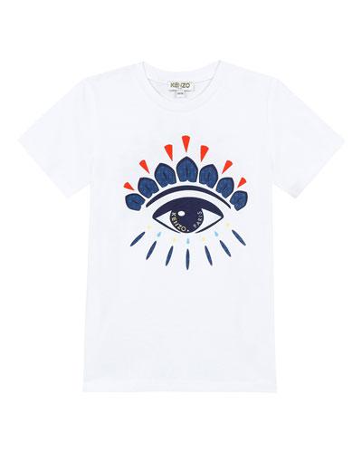 Iconic Eye Graphic T-Shirt, Size 2-4