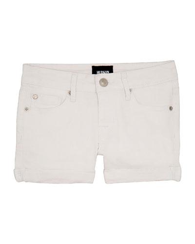 Girls' Bria Cuffed Shorts, Size 4-6X