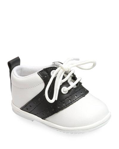 9d66bc3feb Austin Two-Tone Leather Saddle Oxford Shoes