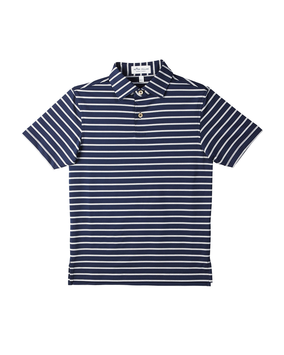 a2e686818 Peter Millar Stretch Jersey Market Stripe Polo In Blue | ModeSens
