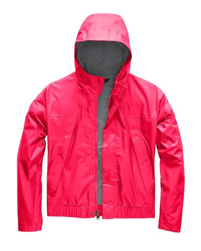 Precita Hooded Water-Repellent Jacket, Size XXS-XL