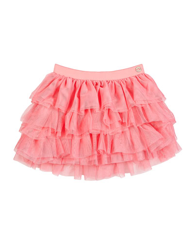 Tiered Tulle Skirt, Size 12-36 Months