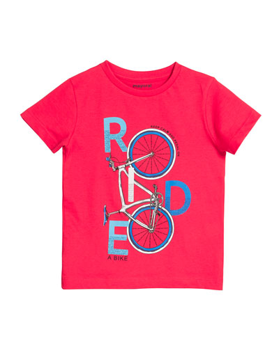 Ride A Bike Graphic Tee, Size 4-7