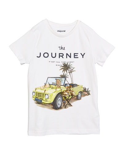 The Journey Graphic Short-Sleeve Tee, Size 4-7
