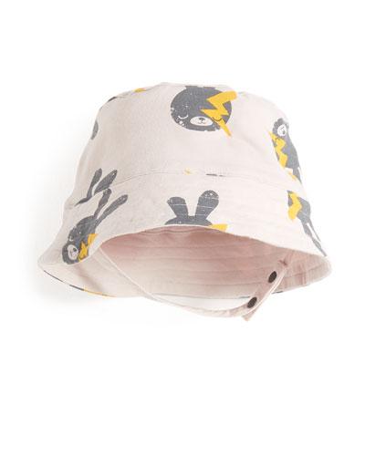 bonniemob Bunny & Lightning Bolt Baby Sun Hat