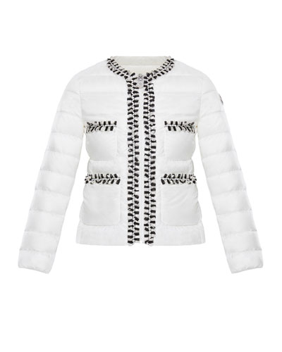 3a79085ad16e Girls Moncler Quilted Jacket