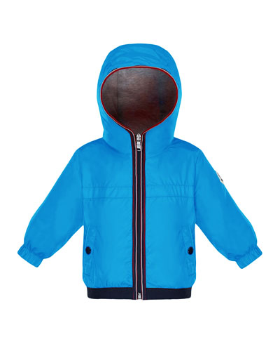 Hooded Nylon Jacket, Size 12M-3